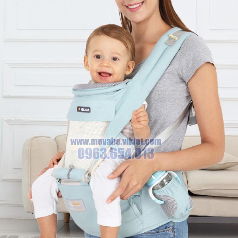 Địu ngồi đa năng cho bé